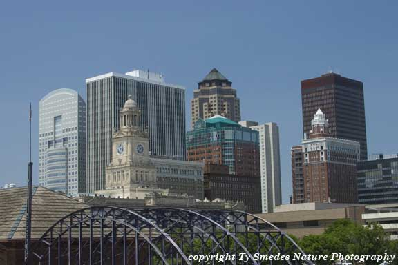 Des Moines Skyline, from the southeast