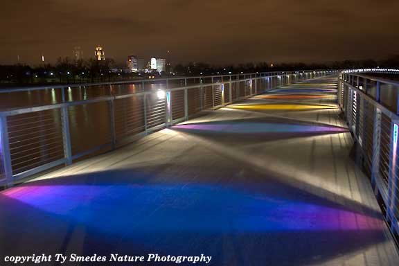 Gray's Lake Bridge, Des Moines Iowa