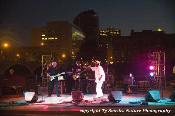 Nightfall on the River, at Simon Estes Amphitheater, Des Moines, IA