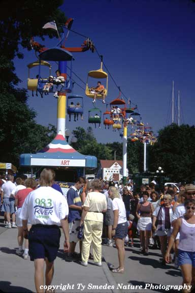 The Grand Concourse of the Iowa State Fair